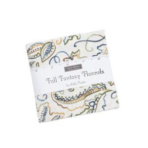 Fall Fantasy Flannels Charm Packs - Packs Of 12
