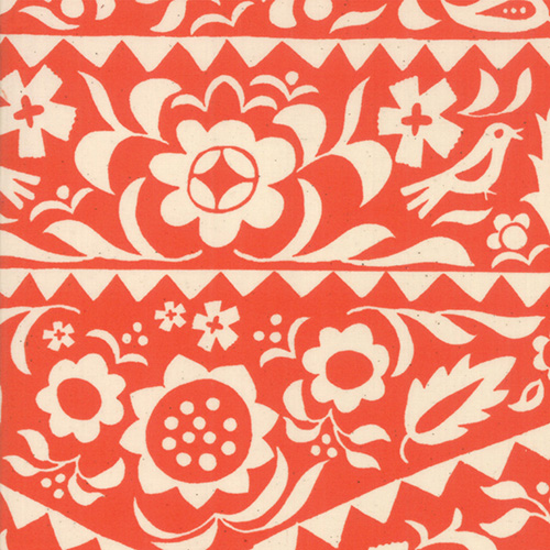 Alma By Alexia Abegg By Ruby Star Society For Moda - Warm Red