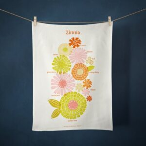 Tea Towel Collection 2021/Zinnia By Ruby Star Society For Moda - Multiple  Of 6