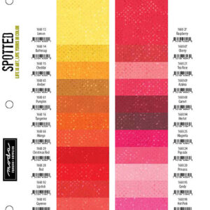 Spotted Shade Card By Moda