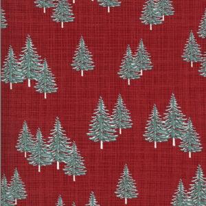 Juniper Brushed By Kate & Birdie For Moda - Cardinal - Brushed
