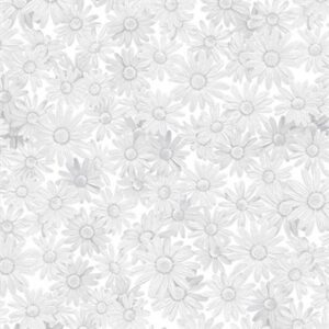 Starflower Christmas By Create Joy Project For Moda - White