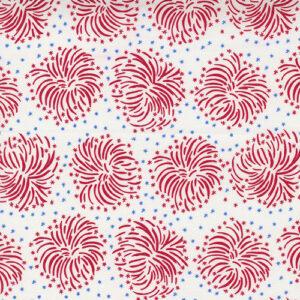 Holiday Essentials - Americana By Stacy Iest Hsu For Moda - White