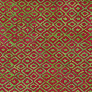 Felicity Batiks By Kate Spain For Moda - Red - Pine