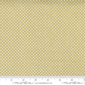 Whispers Metallic By Studio M For Moda - Cream - Gold