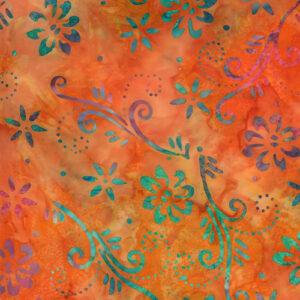 Sunny Day Batiks By Moda - Mango