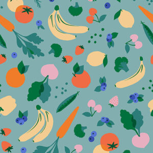 Food Group By Ruby Star Society For Moda - Ocean
