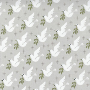 Christmas Morning By Lella Boutique For Moda - Silver