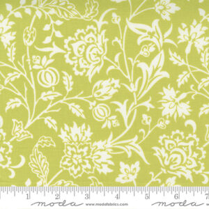 Pumpkins And Blossoms By Fig Tree & Co. For Moda - Sprout