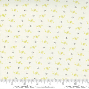 Pumpkins And Blossoms By Fig Tree & Co. For Moda - Vanilla - Sprout