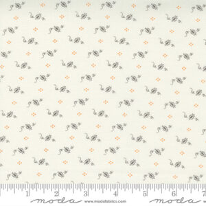 Pumpkins And Blossoms By Fig Tree & Co. For Moda - Vanilla - Charcoal