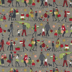 Hustle And Bustle By Fig Tree & Co. For Moda - Tinsel