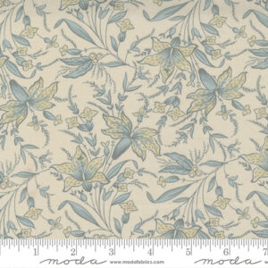 Regency Sumerset Blues By Christopher Wilson Tate For Moda - Shadow White - Parma Gray
