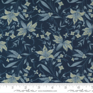 Regency Sumerset Blues By Christopher Wilson Tate For Moda - Navy