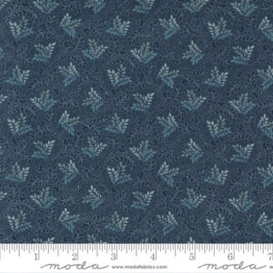 Regency Sumerset Blues By Christopher Wilson Tate For Moda - Midnight Blue