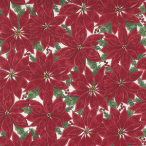 Home Sweet Holidays By Deb Strain For Moda - Berry Red - White