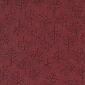 Warm Winter Wishes By Holly Taylor For Moda - Deep Red