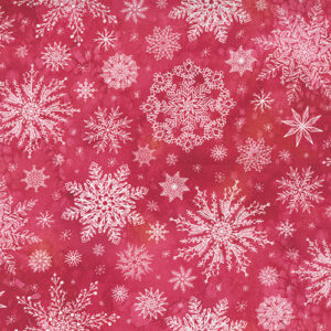 Starflower Christmas By Create Joy Project For Moda - Red