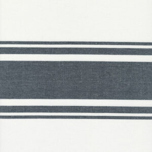 """Lakeside 18""""toweling By Jenelle Kent For Moda - Off White / Black"""