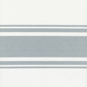 """Lakeside 18"""" Toweling By Jenelle Kent For Moda - Off White / Silver"""
