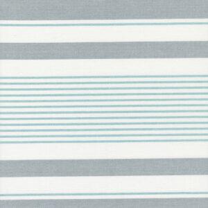 "Lakeside 60"" Toweling By Jenelle Kent For Moda - Silver"