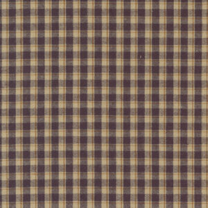 Homemade Homespuns By Kansas Troubles Quilters For Moda - Purple - Tan