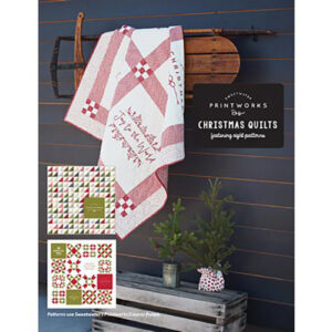 Printworks Christmas Quilts Book By Sweetwater For Moda