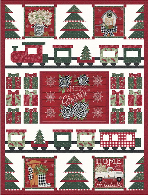 Home Sweet Holidays - Toy Store Kit By Moda