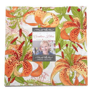 Carolina Lilies Layer Cakes By Moda - Packs Of 4