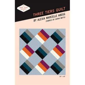 Three Tiers Quilt Pattern By Ruby Star Society For Moda - Min. Of 3