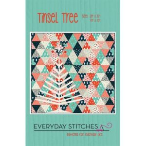Tinsel Tree Pattern By Eneryday Stitches For Moda - Minimum Of 3