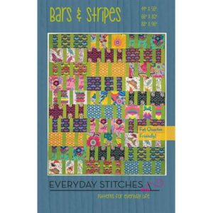 Bars And Stripes Pattern By Everyday Stitches For Moda -  Minimum Of 3
