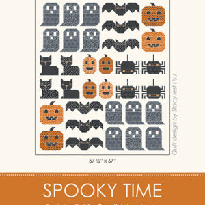 Spooky Time Pattern By Stacy Iest Hsu For Moda - Minimum Of 3
