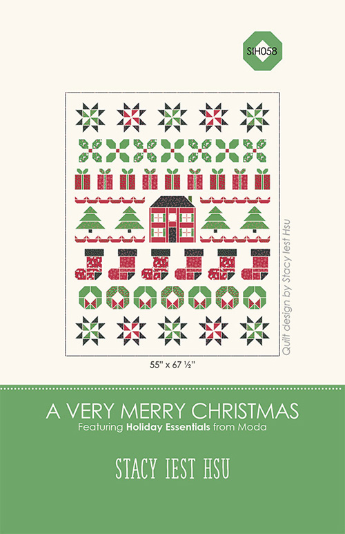 A Very Merry Christmas Pattern By Stacy Iest Hsu For Moda - Minimum Of 3