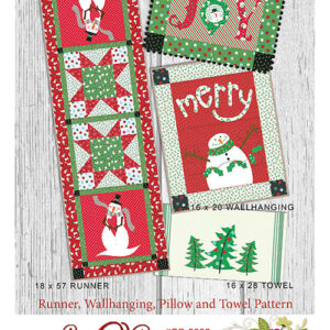 Merry Holidays By The Quilt Factory For Moda - Minimum Of 3