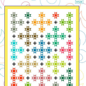 Brightly Shining Pattern By Wendy Sheppard For Moda - Minimum Of 3
