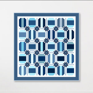 Kenedy Quilt Pattern By Crabtree Arts Collective For Moda - Minimum Of 3