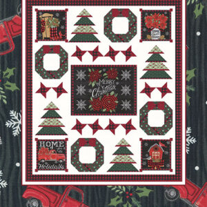 Rustic Christmas Pattern By Coach House Designs - Min. Of 3