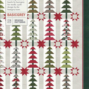 Balsam Tree Pattern By Basic Grey For Moda - Min. Of 3