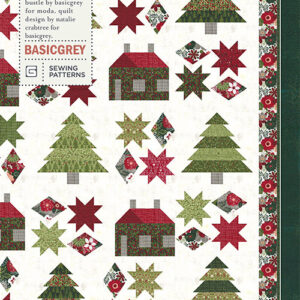 Pines And Cabin Pattern By Basic Grey For Moda - Min. Of 3