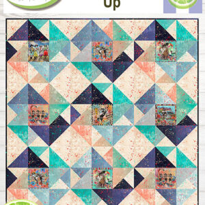 Round Up Pattern By Lavender Lime For Moda - Min. Of 3