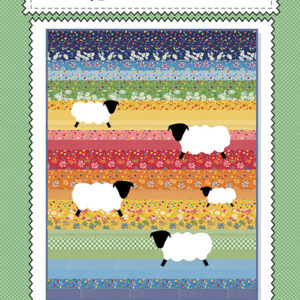 Counting Sheep Pattern By American Jane For Moda - Minimum Of 3