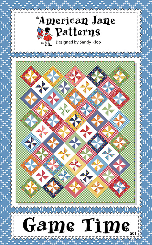 Game Time Pattern By American Jane For Moda - Minimum Of 3