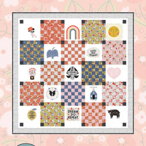 Every Patch Belongs Pattern By Gingiber For Moda - Minimum Of 3