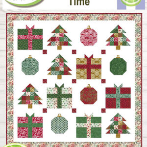 Christmas Time Pattern By Lavender Lime For Moda - Minimum Of 3
