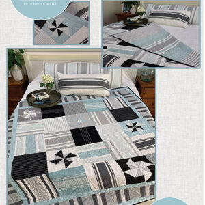 Sea Salt Quilt Pattern By Pieces To Treasure For Moda - Minimum Of 3