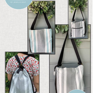 The Convertible Bag Pattern By Pieces To Treasure For Moda - Minimum Of 3