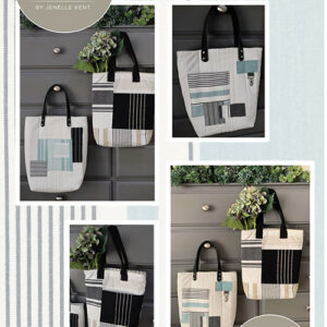 Lagoon Totes Pattern By Pieces To Treasure For Moda - Minimum Of 3