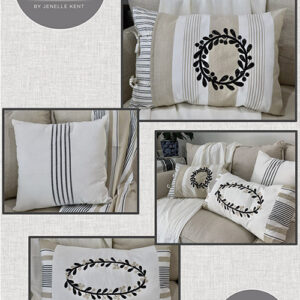 Sand Drift Pillows Pattern By Pieces To Treasure For Moda - Minimum Of 3