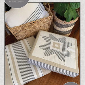 Square Floor Pillow Pattern By Pieces To Treasure For Moda - Minimum Of 3